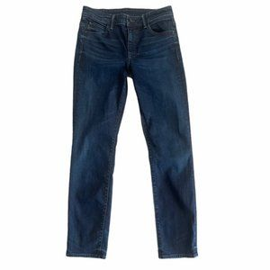 HELMUT LANG 'Ankle Skinny' High Rise Jeans Size 29